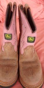 Child John Deere boots